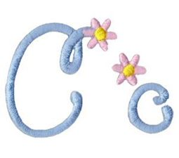 A Daisy Day Alphabet C