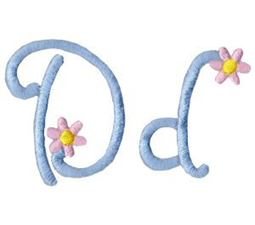 A Daisy Day Alphabet D