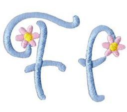 A Daisy Day Alphabet F