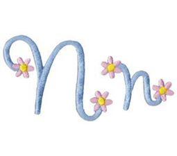 A Daisy Day Alphabet N