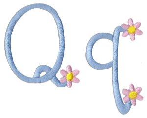 Machine Embroidery Designs A Daisy Day Alphabet