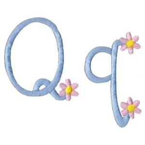 A Daisy Day Alphabet Q