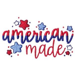 Embroidery Design Set - All American Three 6