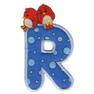 Animal Alphabet Applique r