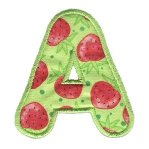 Applique Alphabet 1