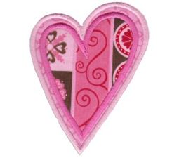 Applique Hearts 11