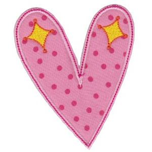 Embroidery Design Set - Applique Hearts 13