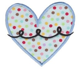 Applique Hearts 14