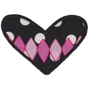 Embroidery Design Set - Applique Hearts 16