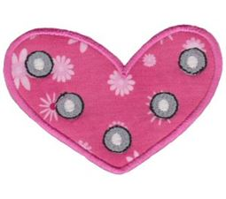 Applique Hearts 18