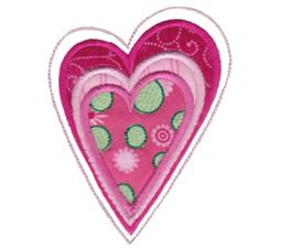 Applique Hearts 2