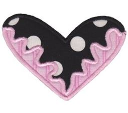 Applique Hearts 23