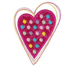 Applique Hearts 4