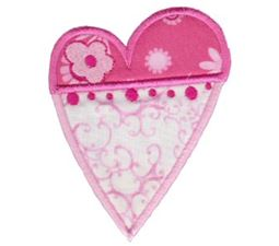Applique Hearts 5
