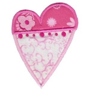 Applique Hearts 5