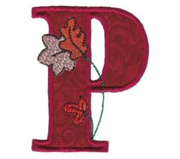 Autumn Alphabet P