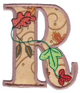 Autumn Alphabet R