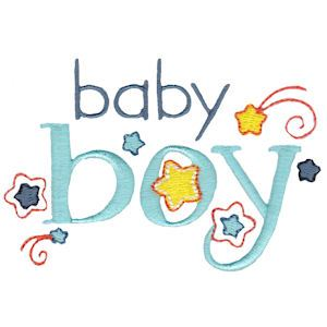 Embroidery Design Set - Baby Boy Sentiments 1