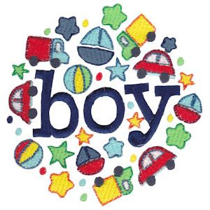 Embroidery Design Set - Baby Boy Sentiments 16