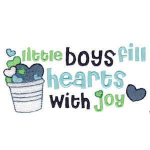 Embroidery Design Set - Baby Boy Sentiments 5