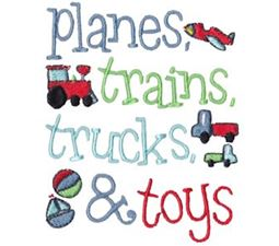 Planes Trains Trucks And Toys