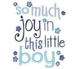 So Much Joy In This Little Boy