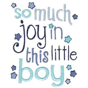 Embroidery Design Set - Baby Boys Sentiments Too 5