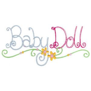 Embroidery Design Set - Baby Dolls 14