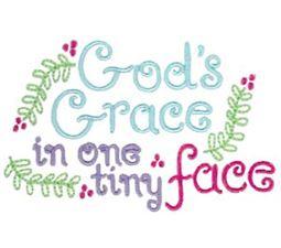 Gods Grace In One Tiny Face