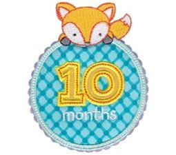 Baby Months Applique 10