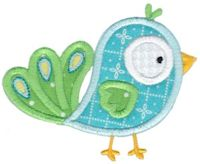 Birds N Bugs Applique