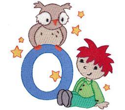 Boys Alphabet O