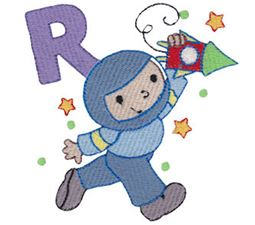 Boys Alphabet R