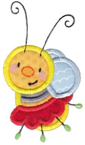 Busy Bees Applique 1