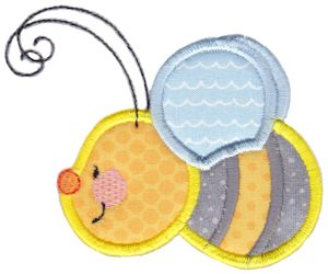 Busy Bees Applique 11