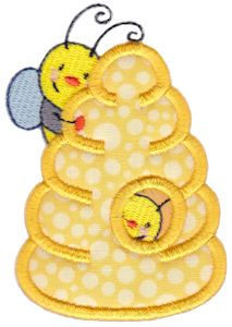 Busy Bees Applique 2