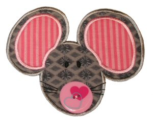 Button Nose Applique 2