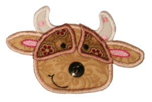 Button Nose Applique 7
