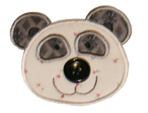 Button Nose Applique 8
