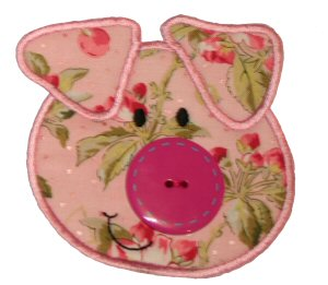 Button Nose Applique 9