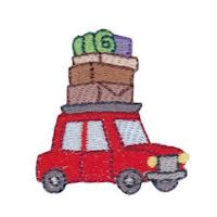 Embroidery Design Set - Camping Minis
