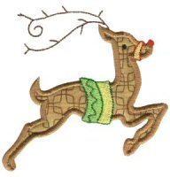 Christmas Applique Jumbo