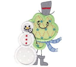 Christmas Critters Applique 8