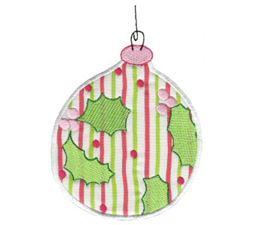Christmas Ornaments Applique 1