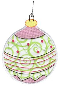 Christmas Ornaments Applique 11