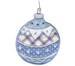 Christmas Ornaments Applique 4