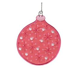 Christmas Ornaments Applique 5