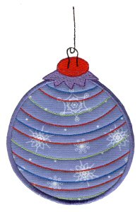 Christmas Ornaments Applique 7