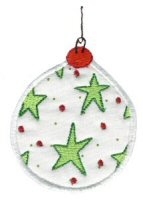 Christmas Ornaments Applique