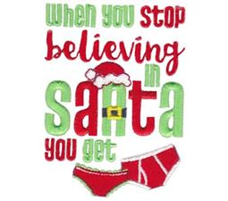 When You Stop Believing In Santa